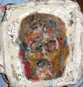 Skull mold - Front